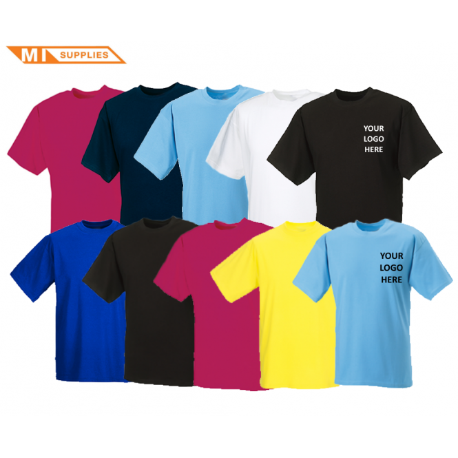 Embroidery Pack: 10 T Shirts Including Logo