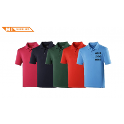 Embroidery Pack: 5 Polos Including Logo