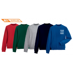Embroidery Pack: 5 Sweatshirts Including Logo