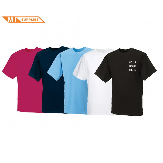 Embroidery Pack: 5 T Shirts Including Logo