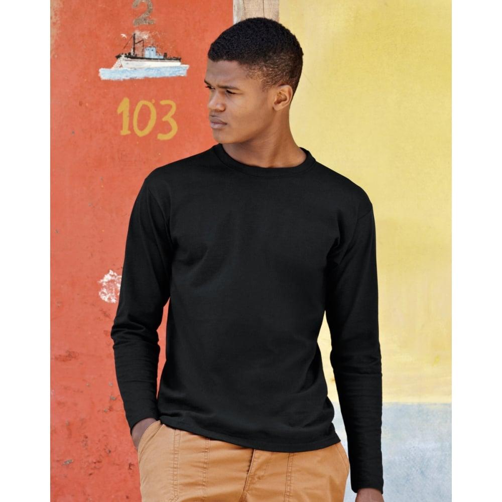 15776029 Fruit Of The Loom 61042 Super Premium Long Sleeve T-Shirt - Clothing ...