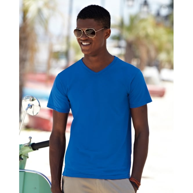 Fruit Of The Loom 61066 Valueweight V-Neck T-Shirt