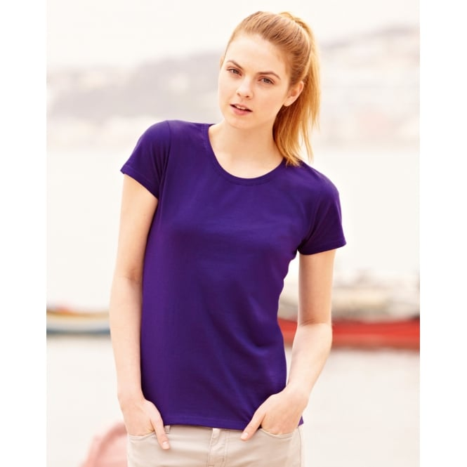 Fruit Of The Loom 61372 Lady-Fit Valueweight T-Shirt