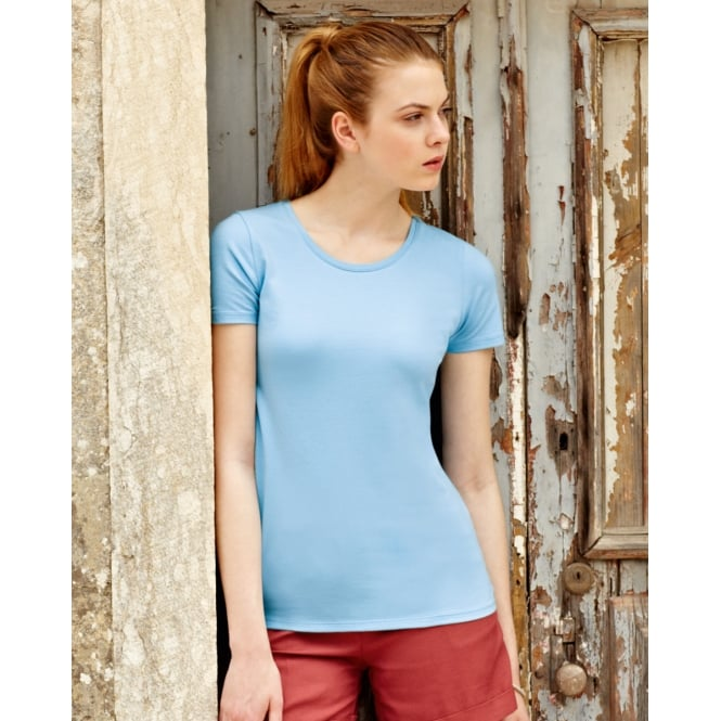 Fruit Of The Loom 61378 Lady-Fit Crew Neck T-Shirt