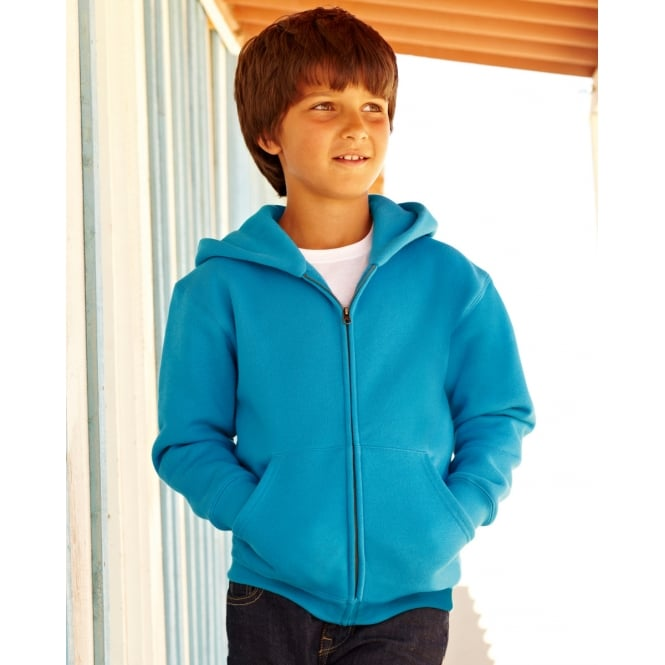 Fruit Of The Loom 62045 Children's Hooded Sweat Jacket