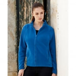 62066 Lady-Fit Full Zip Fleece Bottle Green - Size: S *One Size Only - Outlet Store*