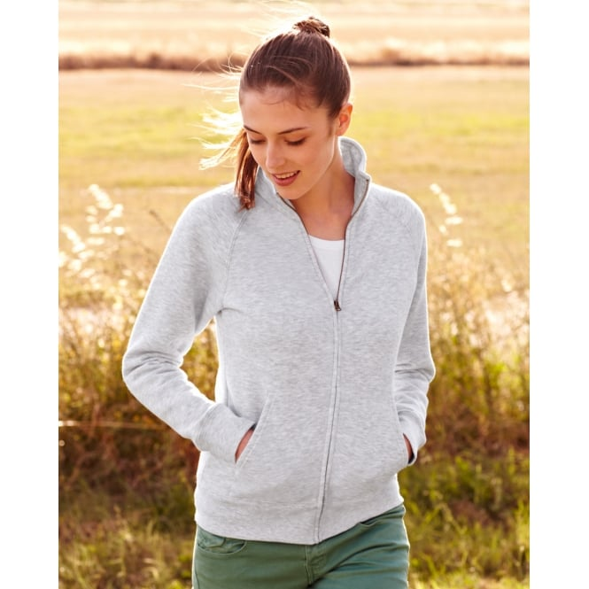 Fruit Of The Loom 62116 Lady-Fit Sweat Jacket