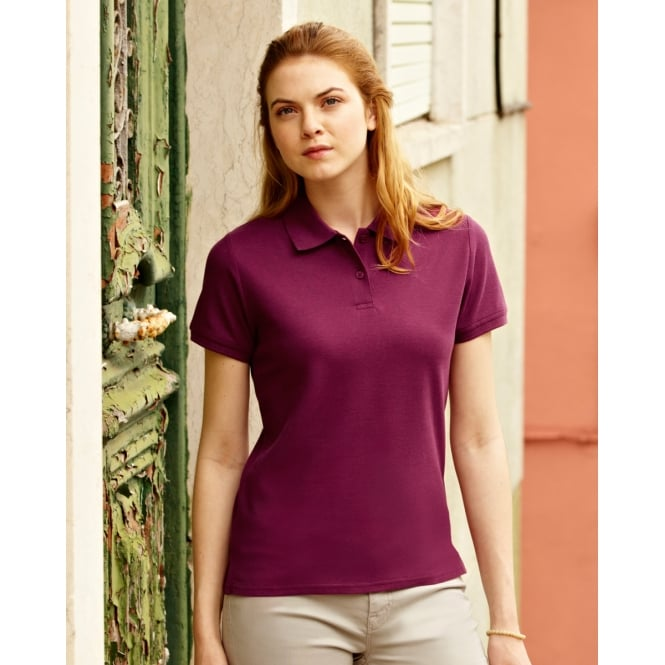 Fruit Of The Loom 63030 Lady-Fit Premium Polo