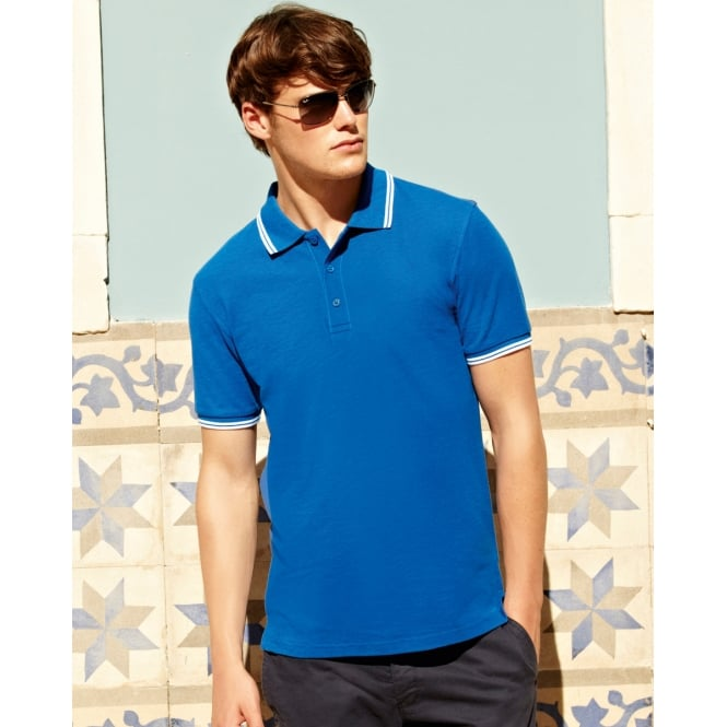 Fruit Of The Loom 63032 Men's Tipped Polo