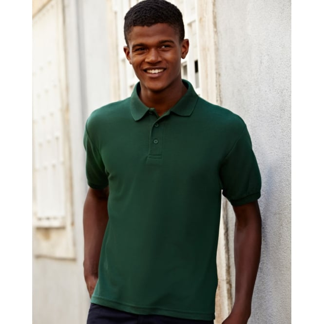 Fruit Of The Loom 63204 65/35 Heavyweight Pique Polo