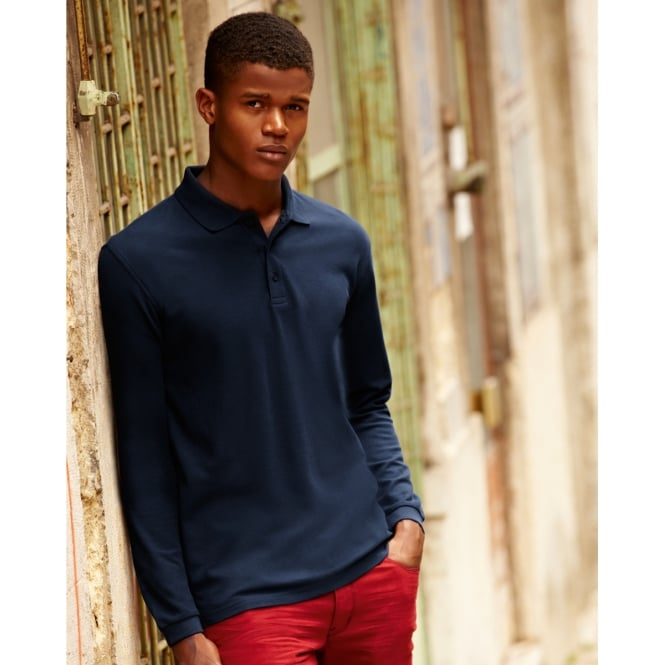 Fruit Of The Loom 63310 Premium Long Sleeve Polo