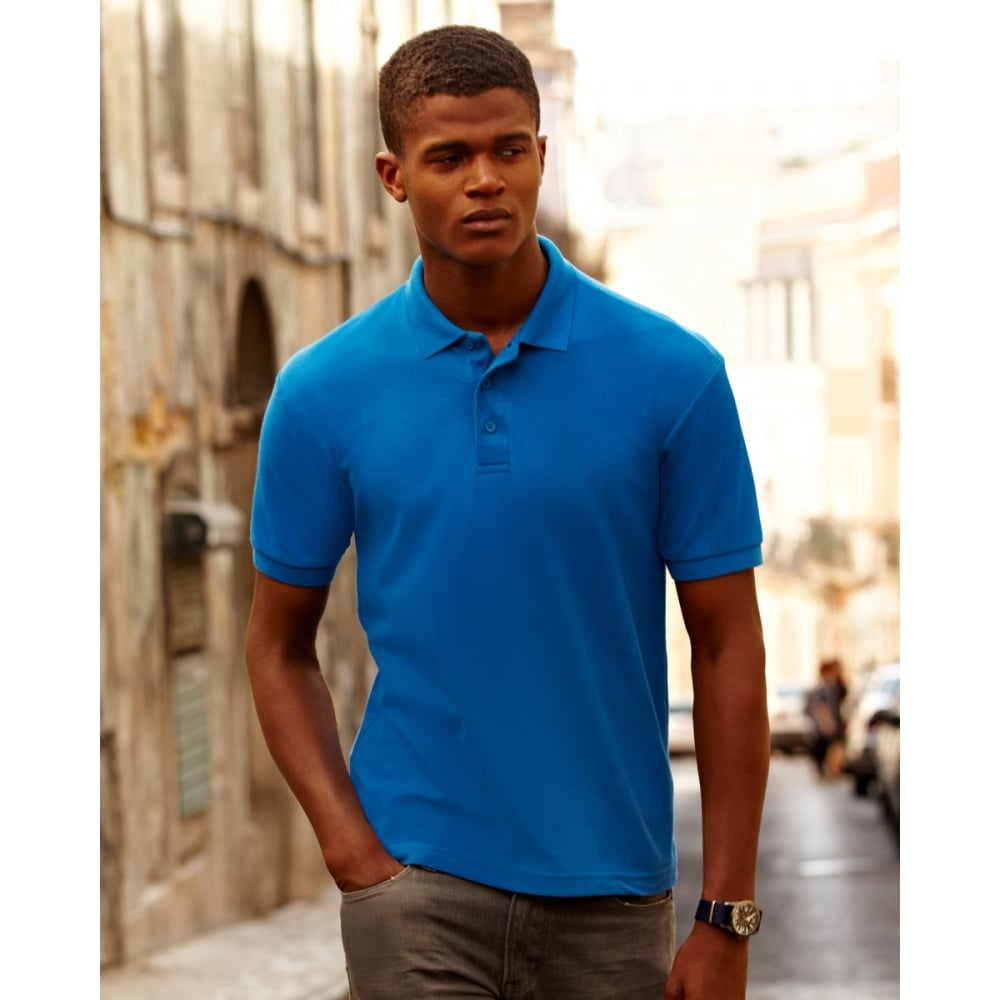 aa60d5e4a66 Fruit Of The Loom 63402 65/35 Pique Polo - Clothing from M.I. ...