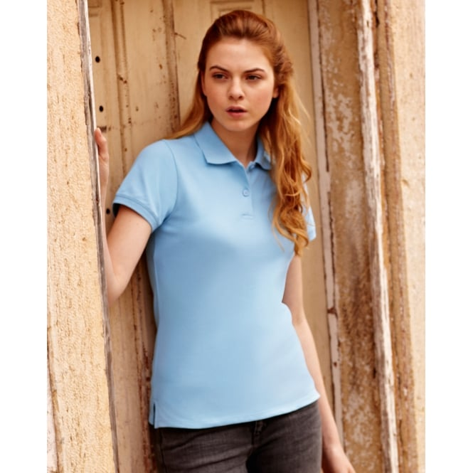 Fruit Of The Loom 63560 Lady-Fit Polo
