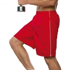 Gamegear KK980 Track Short Red/White - Size: XS *One Size Only - Outlet Store*