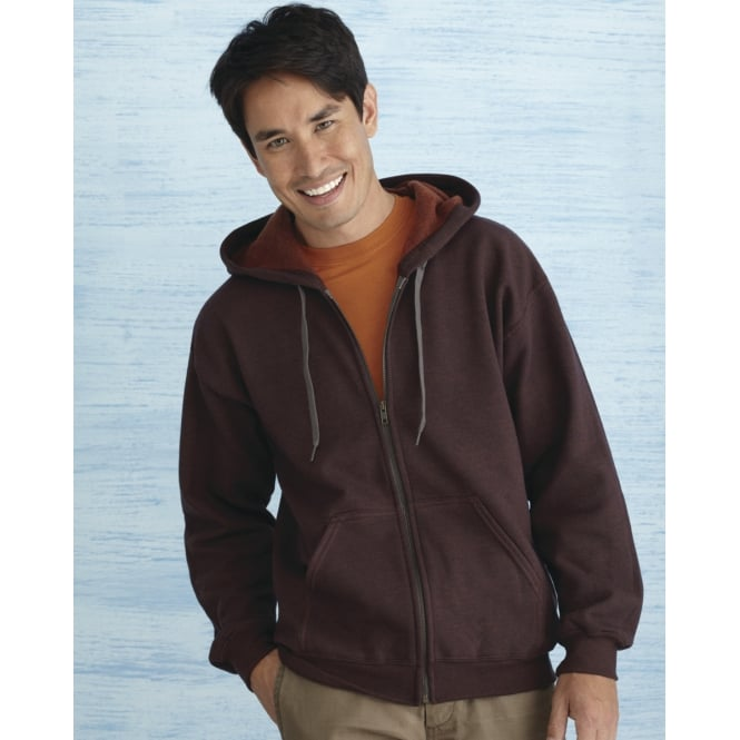 Gildan 18700 Heavy Blend Men's Vintage Full Zip Hooded Sweat