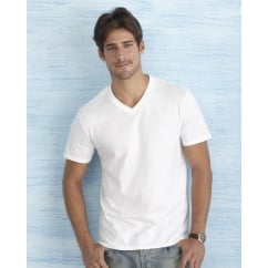 64V00 Men's Soft Style V-Neck T-Shirt