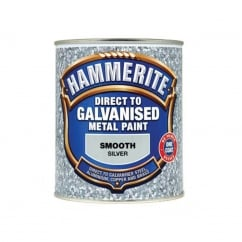 Direct To Galvanised Metal Paint Silver 750ml