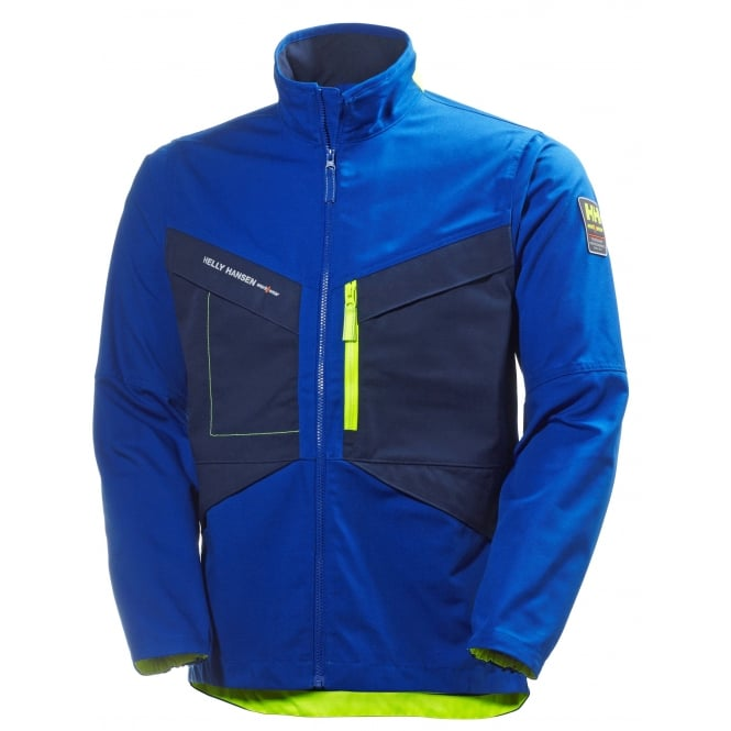 Helly Hansen Aker Jacket Cobalt Blue/Evening Blue, Size: S *One Size Only - Outlet Store*