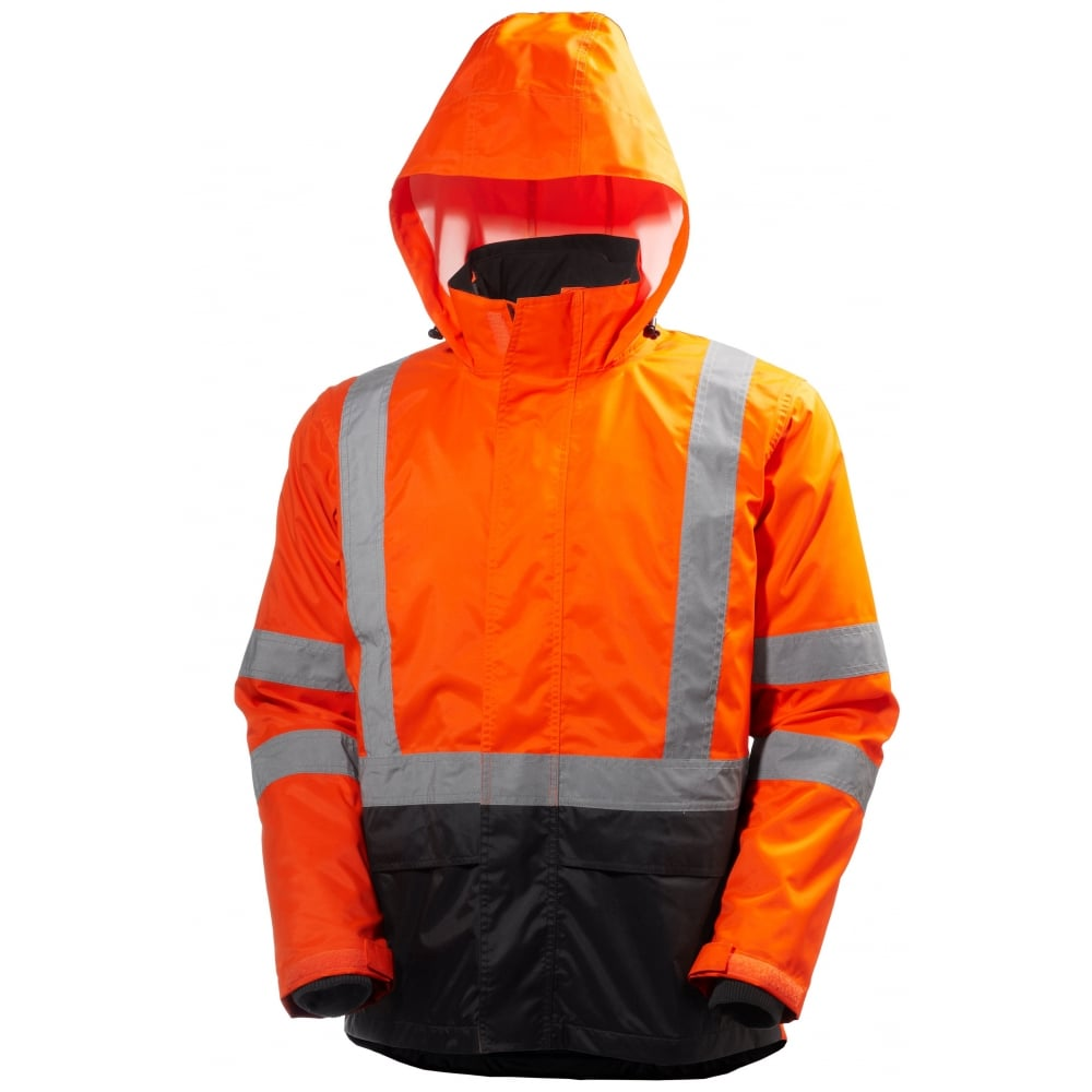 9490bd5e7d579 Helly Hansen Workwear Alta CIS Hi Vis Waterproof Jacket - Clothing ...