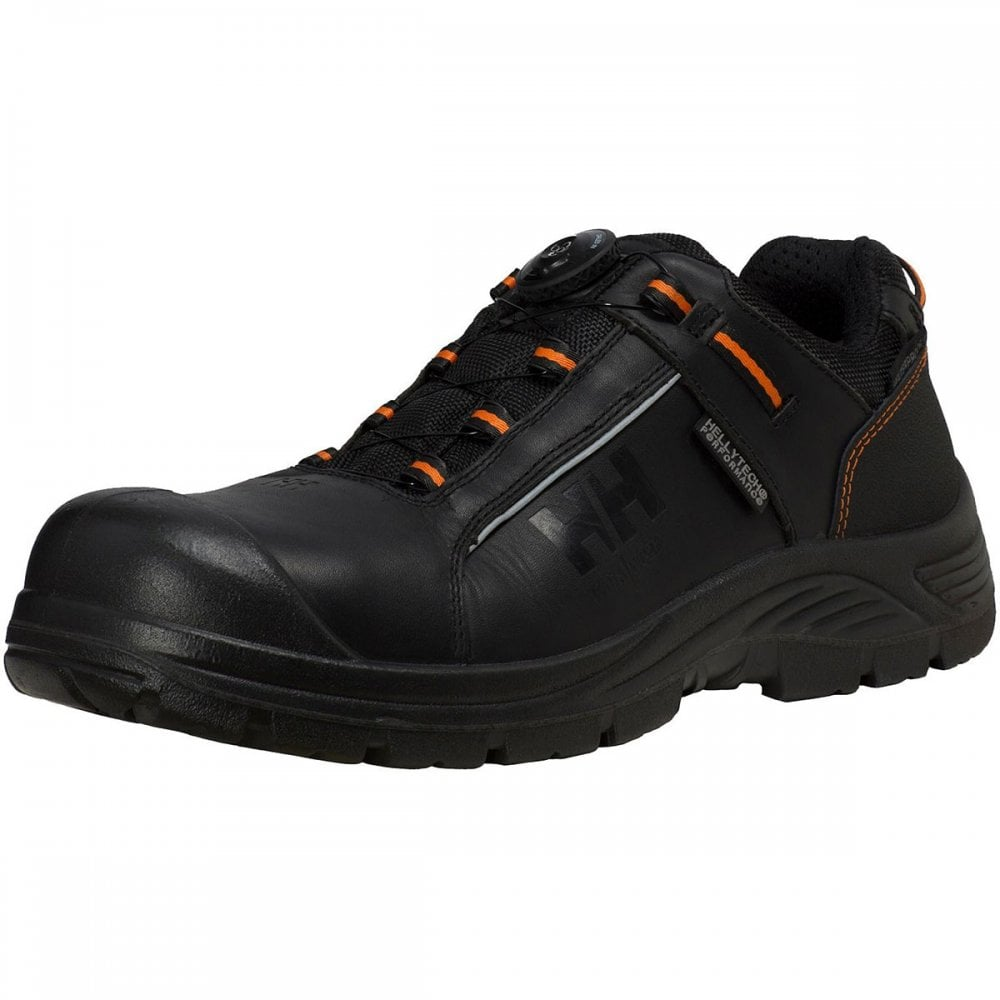 ac37f9b1743 Helly Hansen Workwear Alna Leather Boa Waterproof Composite Toe S3 Safety  Shoe Black/Orange Size: UK7.5 *One Size Only - Outlet Store*