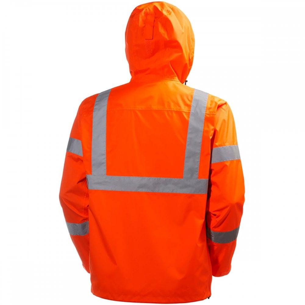 Helly Hansen Workwear Mens Alta Shelter High Visabilty Jacket Helly Hansen Men/'s Workwear 71070