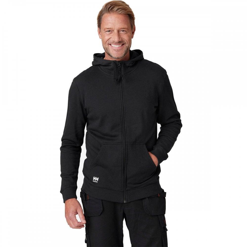 Helly Hansen Hoodie Sweatshirt 79208 Manchester Sweatershirt 990 Black