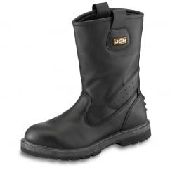 Black Rigger Boot