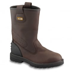 Brown Rigger Boot
