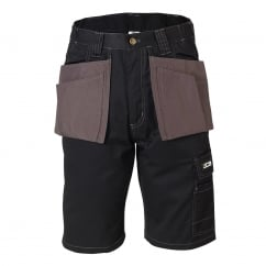 Keele Black/Grey Shorts