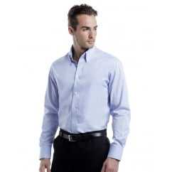 KK188 Men's Long Sleeve Tailored Fit Premium Oxford Shirt