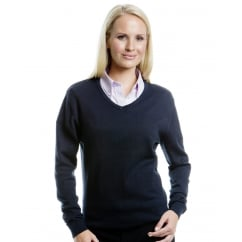 KK353 Ladies' Arundel Long Sleeve V-Neck Sweater