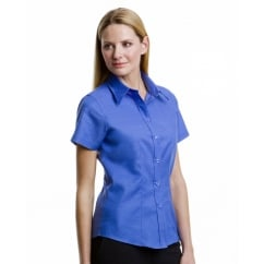 KK360 Ladies' Workwear Oxford Short Sleeve Shirt