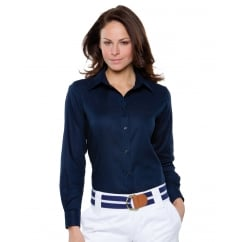 KK361 Ladies' Workwear Oxford Long Sleeve Shirt