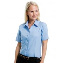KK387 Ladies' City Short Sleeve Business Shirt