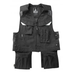 Baza Tool Vest, Black, Size: L *One Size Only - Outlet Store*