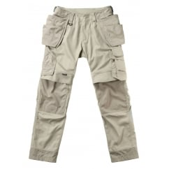 Madrid Craftsmen'S Trousers, Light Khaki, Inside Leg: 32