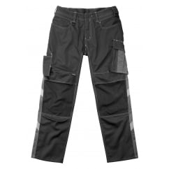 Mannheim Trousers, Black/Dark Anthracite, Inside Leg: 32
