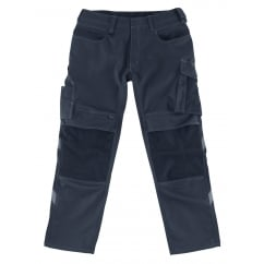 Mannheim Trousers, Dark Navy, Inside Leg: 35