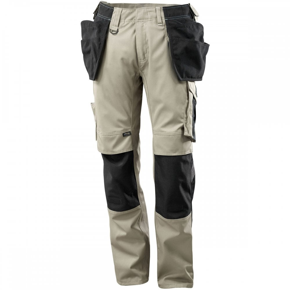 6ce688204255d Mascot Workwear Unique Trousers with kneepad pockets and holster pockets  Two-toned