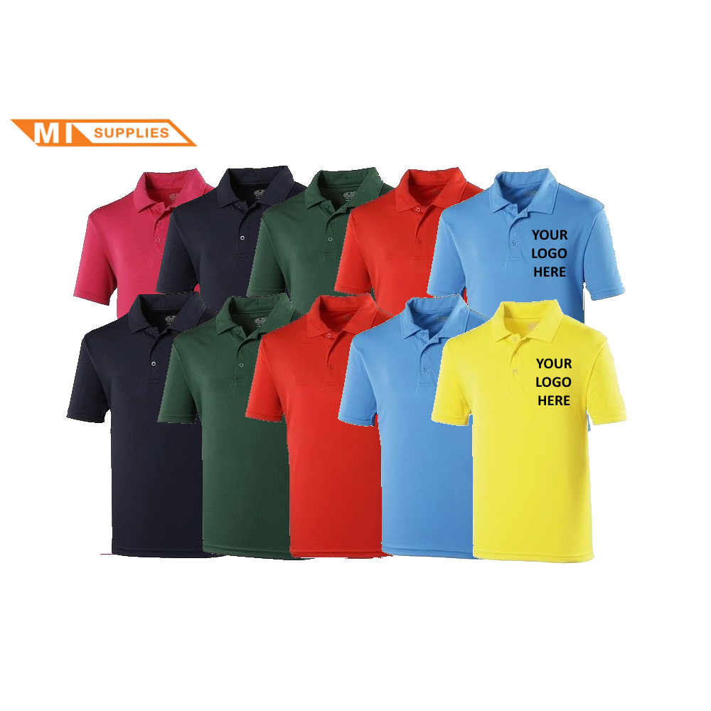 5704da1c6c7 MI Supplies Embroidery Pack  10 Polos Including Logo - Embroidery ...