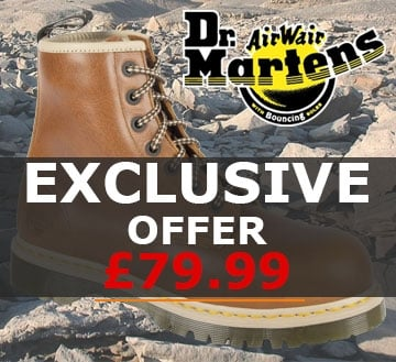 Special Offer: DR MARTENS Icon 7B10 Safety Boot Tan