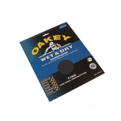 Flex Wet & Dry Paper Sanding Sheets 230 x 280mm Fine 120g (4)