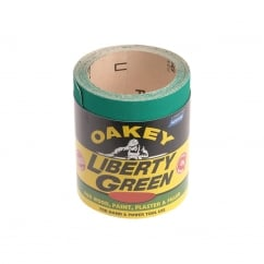 Liberty Green Sanding Roll 115mm x 10m Fine 120g