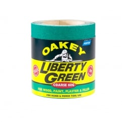 Liberty Green Sanding Roll 115mm x 5m Medium 60g