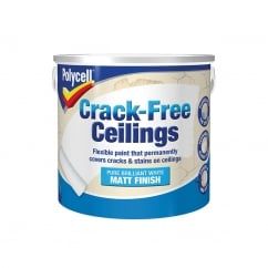 Crack-Free Ceilings Smooth Matt 2.5 Litre