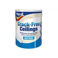 Crack-Free Ceilings Smooth Matt 5 Litre