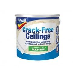 Crack-Free Ceilings Smooth Silk 2.5 Litre