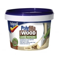 Polyfilla 2 Part Wood Filler Natural 500g