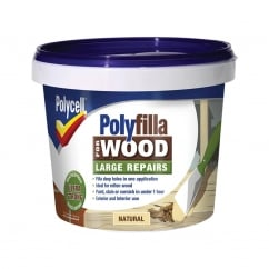 Polyfilla 2 Part Wood Filler Natural 750g