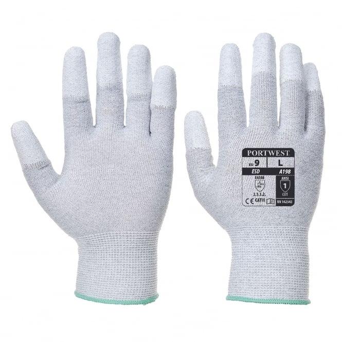 Portwest Antistatic PU Fingertip Glove - Personal ...